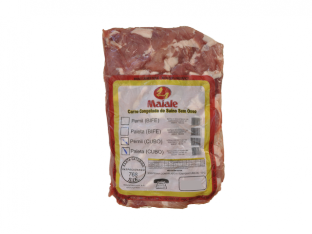 Carne tiras congelada