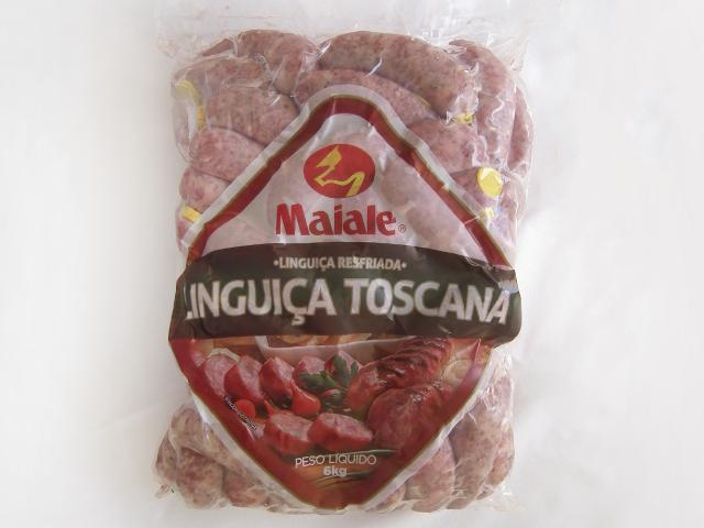 Linguiça Toscana Resfriada 6kg