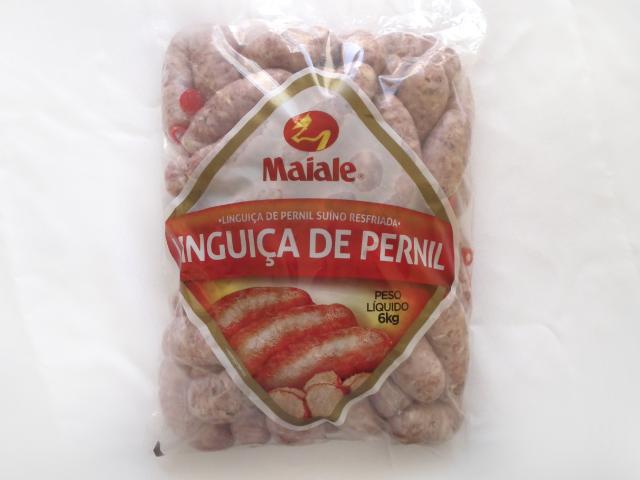 Linguiça de Pernil Suíno Resfriada 6kg